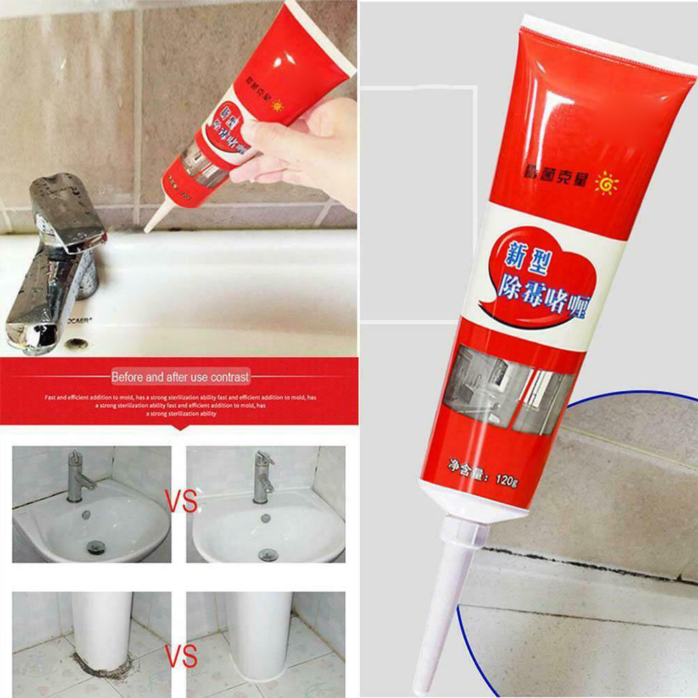 Mold Mildew Cleaner Wall Mold Removal Ceramic Tile Pool 120ml Quick Cleaning Tool AIA99