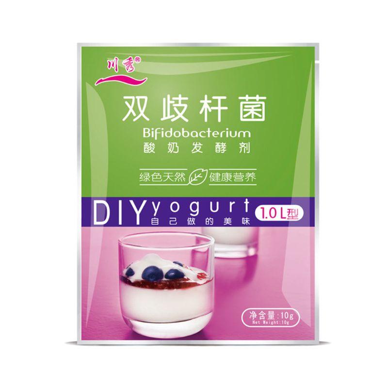 Bifidobacterium Natural Yogurt Starter,5 Probiotics,1g-1L,1g*10 Pack ,Make Dessert At Home