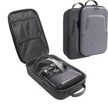 Caja de protección de viaje dura EVA, bolsa de almacenamiento, funda de transporte para Oculus Quest, sistema de realidad Virtual y accesorios, novedad de 2020