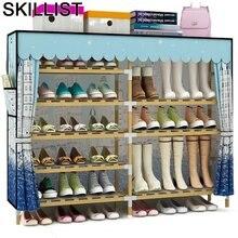 Zapatero rangement kast moveis para casa organizador de zapato
