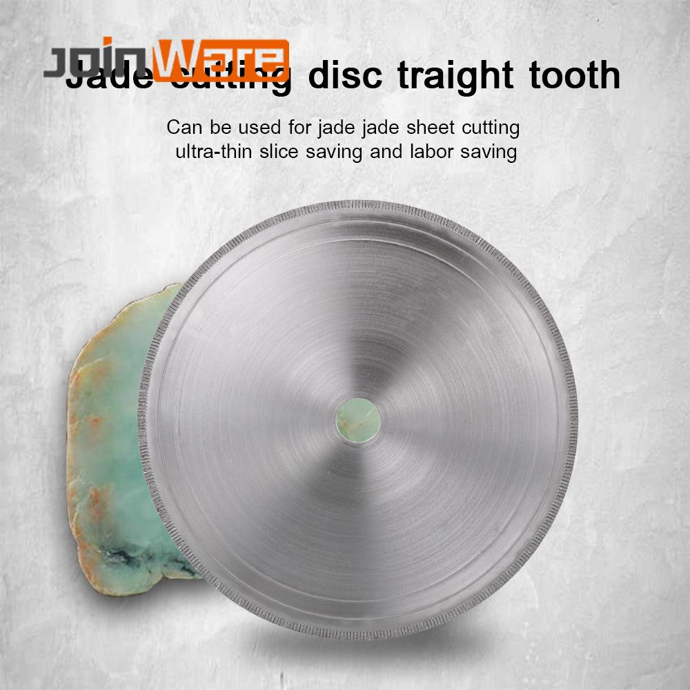 180MM Diamond Lapidary Saws Trim Blade Super Thin Straight Edge Wet Cutting Disc Jewellery Jade Tool 22.23mm