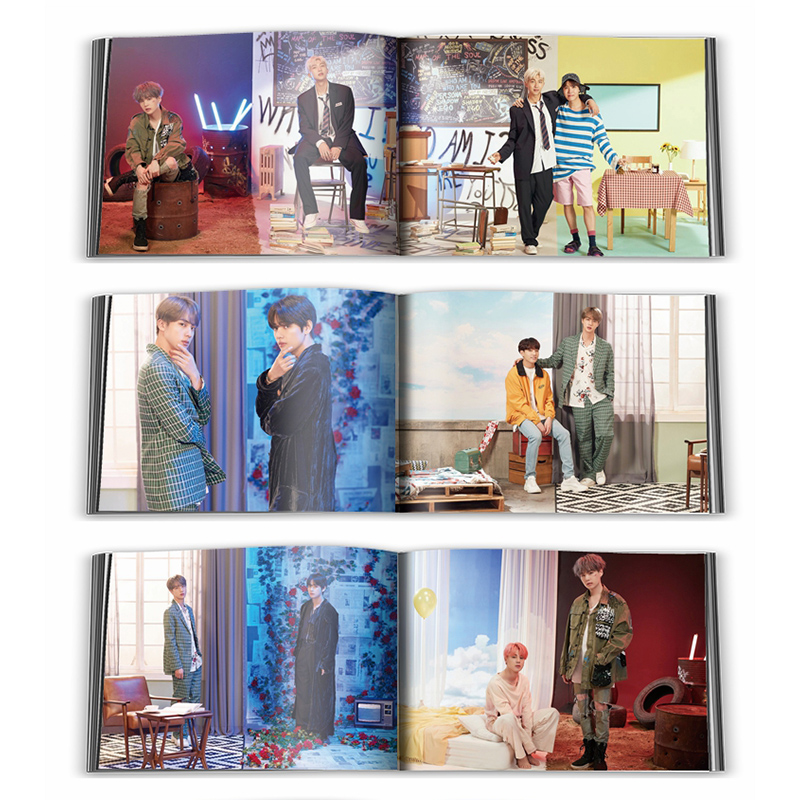 2019 kpop Bangtan Boys FESTA 6 6th Anniversary Around the same card Double sided card in Jewelry Findings Components from Jewelry Accessories