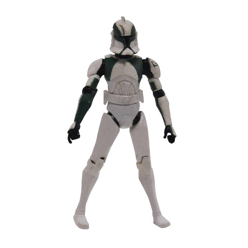 3.75'' Clone Trooper Guns Hip Pilot Clone soldiers Troo per Action Figures for Children