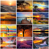 GATYZTORY Paint By Numbers For Adults Children HandPainted Acrylic Painting Landscape Picture Drawing On Canvas