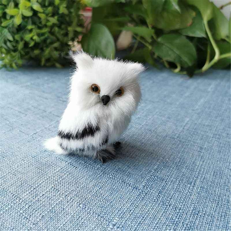 7 ซม.น่ารัก Snowy Owl Hedwig Potters Letter การจัดส่งตุ๊กตาของเล่นน่ารัก Harried Bi P31B