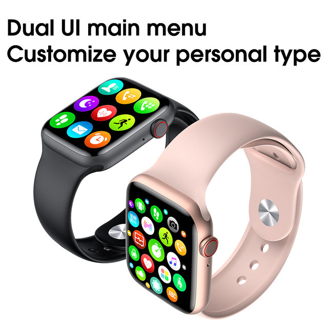 Fashion smart watch male and female bluetooth call 44 mm 1.75 inch full touch screen fitness tracker blood pressure clock 2