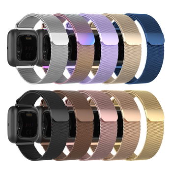 For Versa 2 Milanese Loop Watch Strap Band for Fitbit Versa/Versa lite Smart Watch Replacement Belt Accessories for Fitbit Versa фото