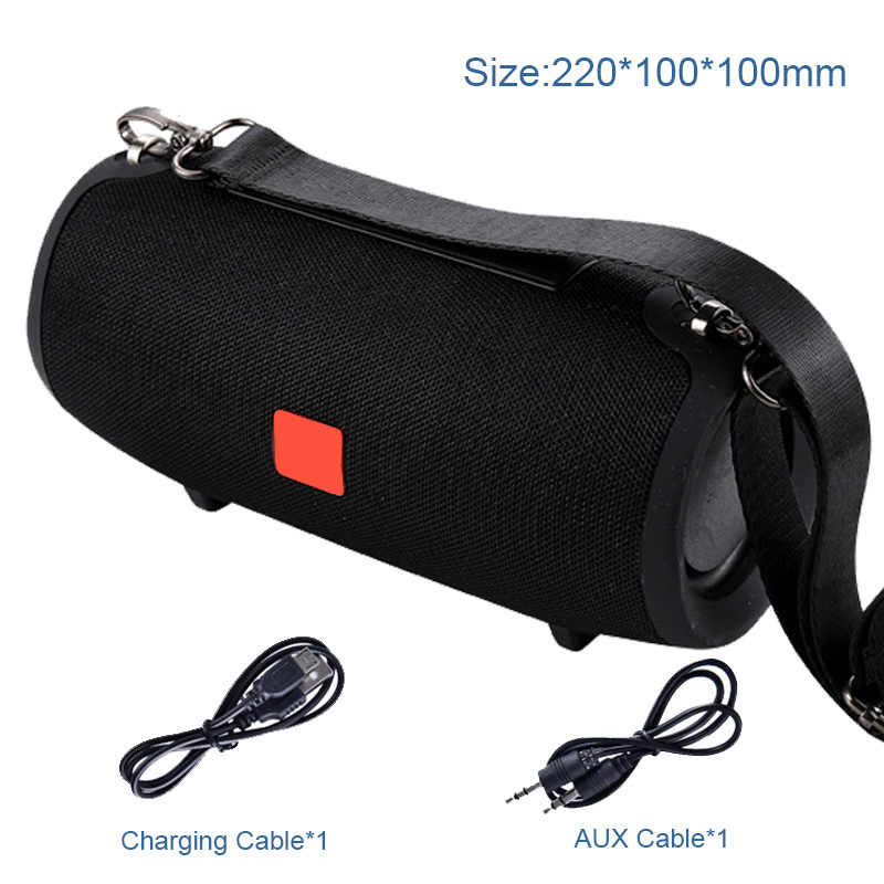 Bluetooth Speaker column Wireless portable sound box 20W stereo bass subwoofer fm radio boombox aux usb pc sound bar for iPhone