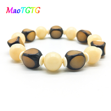 2019 New Fashion Natural Bodhi Beaded Bracelet For Men Hand Jewelry Yoga Stretch Bracelets Pulseras Mujer