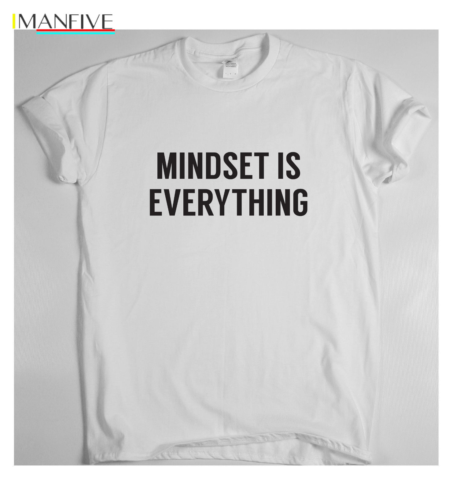 MINDSET IS EVERYTHING motivational t shirt training sport money running tee win 2019 Newest Fashion in T Shirts from Men 39 s Clothing