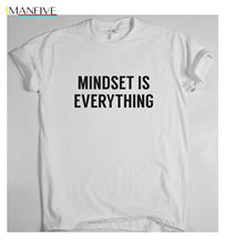 MINDSET IS EVERYTHING motivational t shirt training sport money running tee win 2019 Newest Fashion mike fox money is everything