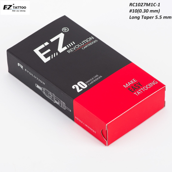 RC1027M1C-1 EZ Revolution Cartridge Needles Curved Magnum Tattoo Needles for Cartridge System Tattoo Machine & Grips 20 pcs/Box wholesale curved needles birch quality tying quilts 2 5inch