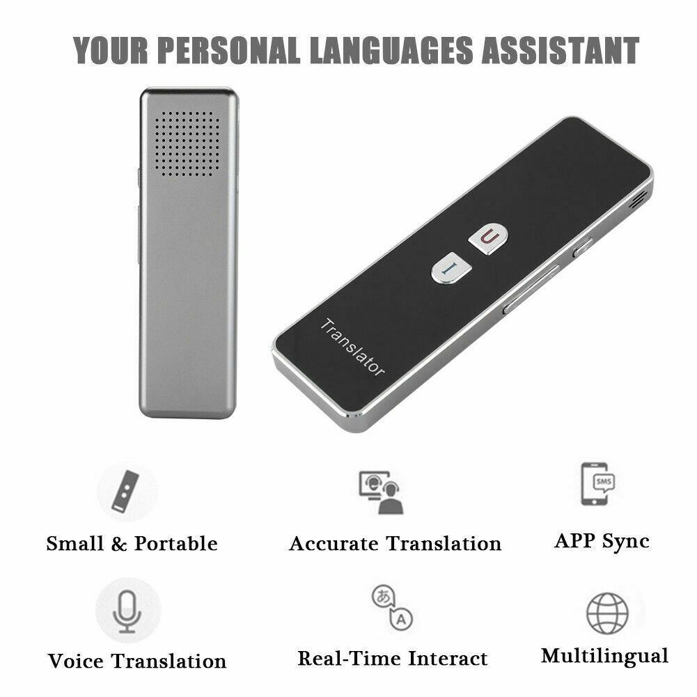 Портативный переводчик T8 Smart 42 язык текст слова интерактивный 2,4 г переводчик двухсторонний в режиме реального времени голос