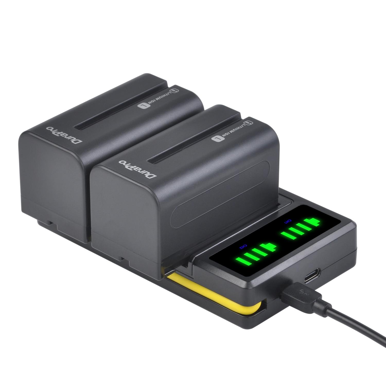 Dual-Charger Battery Li-Ion-Camera F550 CCD-RV100 NP-F750 F960 F970 F570 Sony Np 5200mah