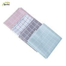 Nordic table cloth anti-scalding oil-proof disposable plastic tablecloth lattice coffee PVC mat thick