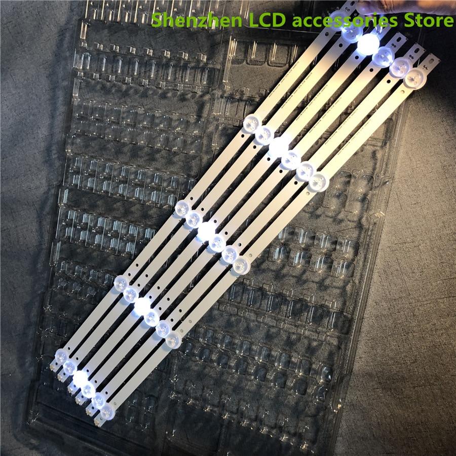 3Pieces/lot  530mm LED Backlight Strip For Proline Bravis 28C2000B 28 Inch TV L2830HD SVJ280A01 REV3 5LED 130402 M280X13 100%NEW