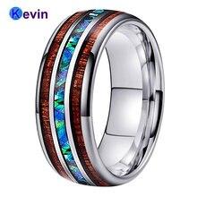 Мужские и женские свадебные кольца вольфрамовое кольцо abalone