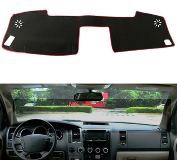 For Toyota Tundra Sequoia 2008 2009 2010 2011 2012 2013 2014 Car Dashboard Cover Mat Pad Sun Shade Instrument Carpet Accessories