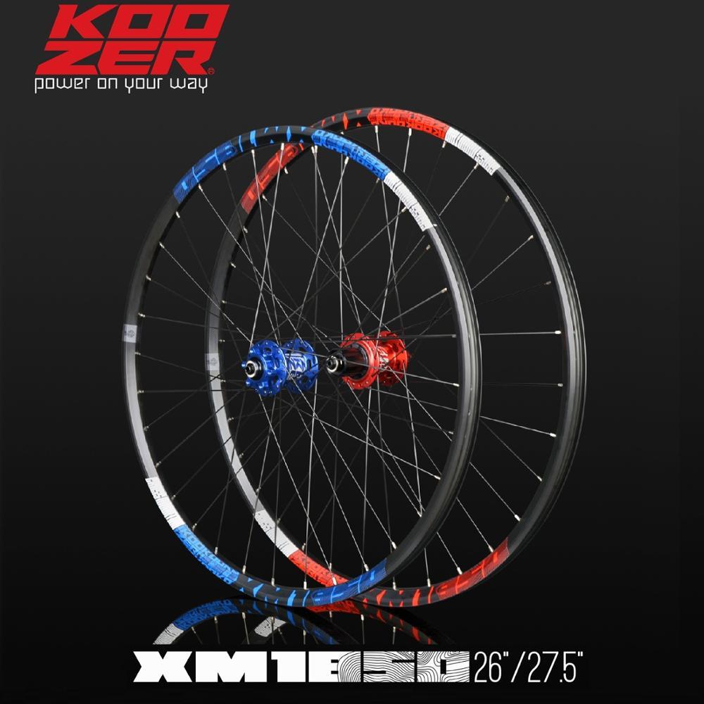 KOOZER XM1850 Mountain Bike Bicycle Wheel 26 27.5 inches, Front Wheel 5/9/15x100mm, Rear Wheel 5/10/12x135mm 12x135/142mm XD(China)