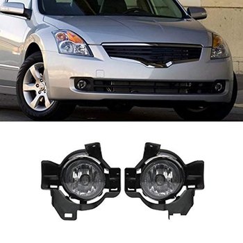 for 10-12 Altima 4D/4DR Sedan Clear Lens Driving Fog Lights+Bulbs+Switch+Wiring By Z-Room
