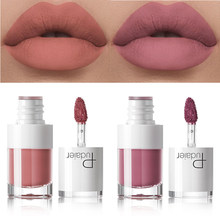 Pudaier Matte Lipstik Cair Tahan Air Makeup Tato Tahan Lama Warna Bibir Matte Gemuk Lip Gloss Rouge Lip Gloss Tabung(China)