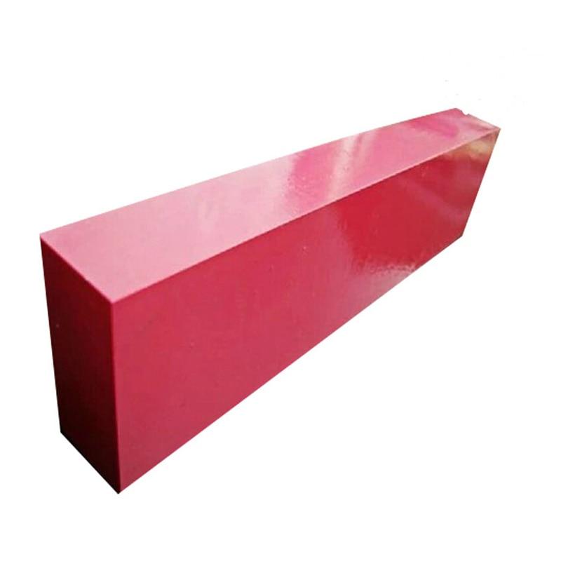 Sharpener System Super Large Knife Sharpening Whetstone Ruby Strickenly Oilstone 200*50*25mm