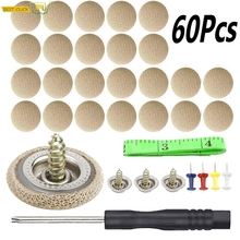 60 Pcs Car Headliner Repair Button, Auto Roof Snap Rivets Retainer Pin For Sagging Roof Ceiling Fix Car Interior Decorations