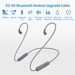 Image 5 - KZ aptX HD Wireless Bluetooth Cable Upgrade Module IPX5 With 2Pin Connector For KZ ZSN/ZS10 Pro/AS16/ZST/ZS10/AS10/AS06 CSR8675