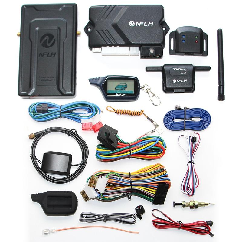 Новый B9 GSM GPS мобильный телефон управления автомобиля GSM / GPS двойного назначения автомобиля Противоугонная сигнализация