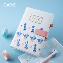 2020 New Year's Calendar Efficiency This Week Calendar Calendar Planning Record This Color Gift Notepad Thickened Notebook