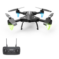 Rc Helicopter Drone Hd Wifi Fpv Selfie Drone Professional Foldable Quadcopter 20 Minutes Battery Fly