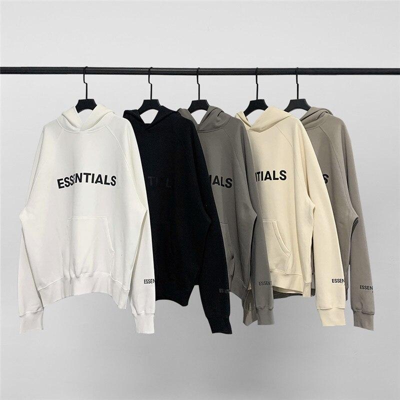 heavy fabric FOG Essentials Hoodie Men Women 1:1 Best Quality Pullover Streetwear FOG Essentials Hoody hoodies