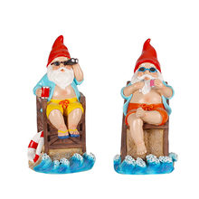 Creative Funny Christmas Dwarf Decoration Resin Courtyard Micro Landscape Crafts Home Decorat Ornaments
