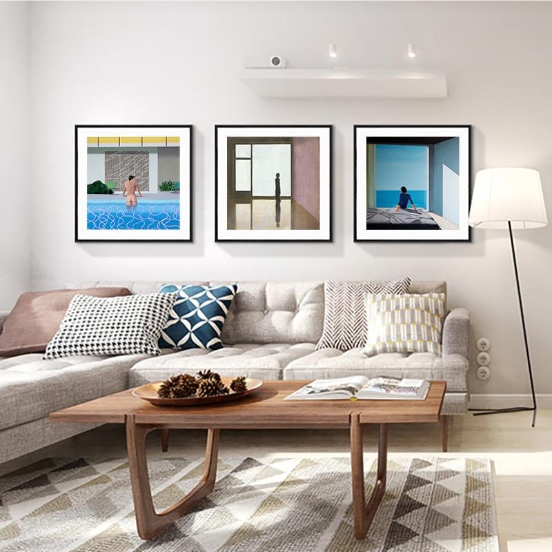 Дэвид хокни больший всплеск художник на заказ свежий с бассейн домашний декор печати плакатов настенное изображение на холсте для Гостиная