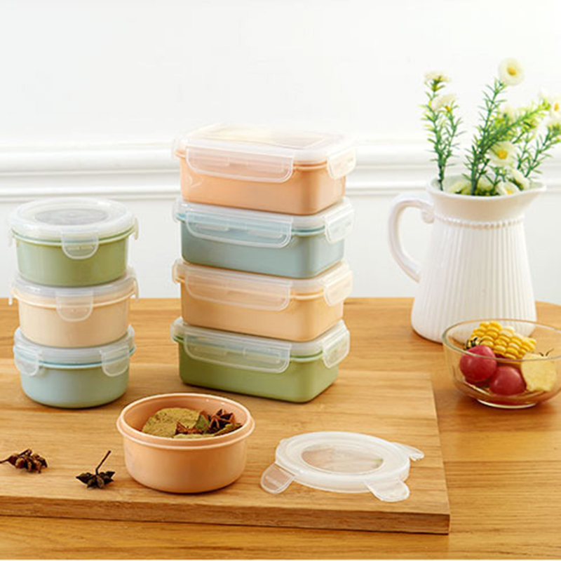 Portable Bento Box Lunch Boxes For Kids Picnic PP Leak Proof Food Storage Containers With Lid
