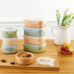 Bento-Box Food-Storage-Containers Leak-Proof Picnic Kids Portable for PP with Lid