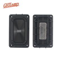 GHXAMP, 2 uds., radiador pasivo, placa de vibración mejorada de bajos adecuada para accesorios para altavoces DIY de 3 5 pulgadas