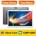 K30 10.1 Inch Tablet For Gaming MT6797 Deca Core 4G Network Android Tablets PC 13MP Camera 1920x1200 IPS Dual Wifi GPS Tablette