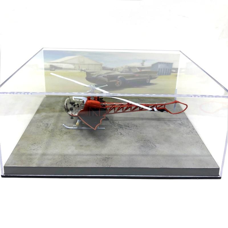 Rare  1:43  Fine  Alloy Helicopter Model  Scene Model  Display Box