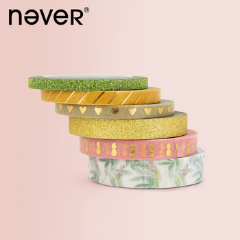 Never Pineapple Paper Tape Basic Pattern Golden Onion Pink Pineapple Pattern Washi Tape Washi Tape Set Masking Tape Washitape цена 2017