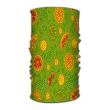 Hoofdband Gesneden Citrus Magic Sjaal Head Wrap Neck Gaiter(China)