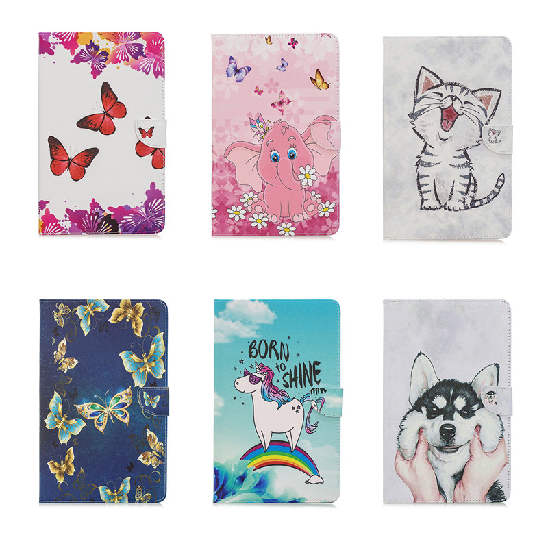 kawaii Cat Girl PU Leather Magnetic Smart Tablet Cover Protection Case For <font><b>Samsung</b></font> <font><b>Galaxy</b></font> <font><b>Tab</b></font> <font><b>A</b></font> <font><b>10</b></font> <font><b>1</b></font> <font><b>2019</b></font> T515 SM-T515 image