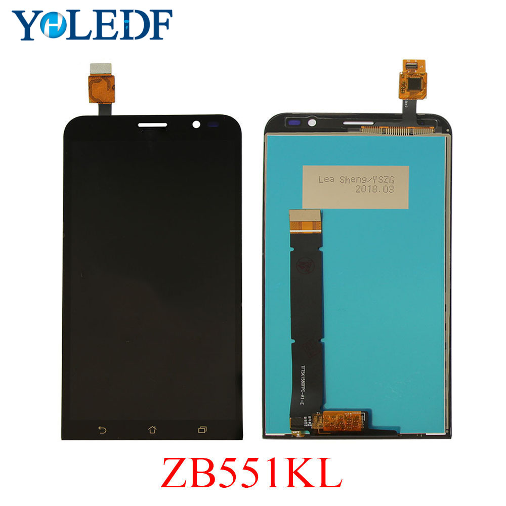 For <font><b>Asus</b></font> Zenfone GO TV ZB551KL LCD Display Panel Touch Screen Pantalla <font><b>X013D</b></font> X013DB TD-LTE Digitizer Assembly replacement parts image