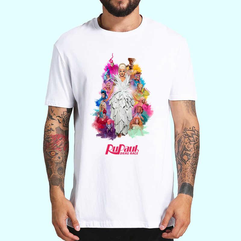 RuPaul Non Oggi Satana Non Oggi Race T Camicette Gli Uomini e Le Donne di Modo di Trascinamento delle RuPaul Magliette E Camicette T-Shirt Manica Corta unisex Tshirt