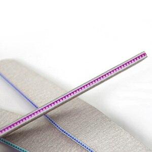 1 шт. полулунообразная пилка для ногтей буферная моющаяся шлифовальная полировка шлифовка полировка педикюр инструменты для дизайна ногтей