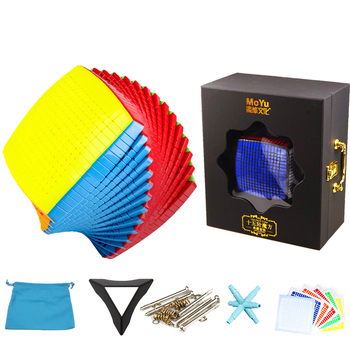 Original MoYu 15x15 Magic Cube 15 layer Big Speed Collection Puzzle Stickers sticker kids toys in gift box - discount item  50% OFF Games And Puzzles