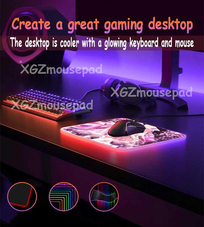 Большой коврик для мыши mairuige rgb со светодиодной подсветкой