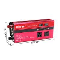 5000W 태양 광 인버터 사인파 4 USB DC12/24 V AC110V/220 변환