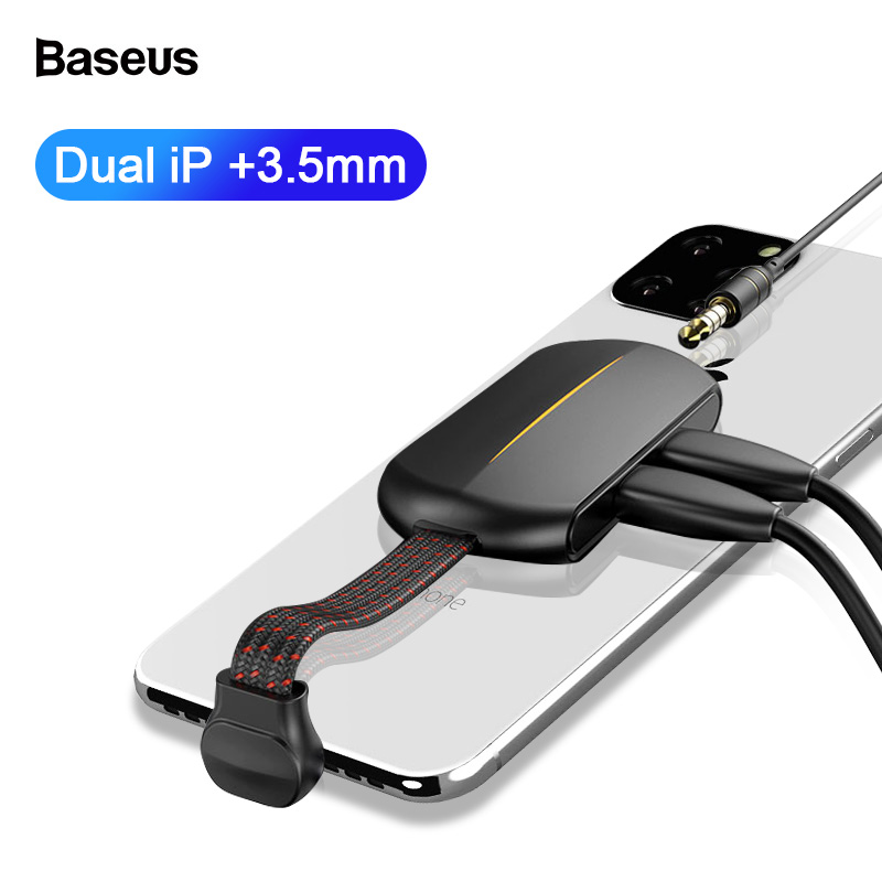 Baseus For IPhone PD 18W Quick Charging Adapter OTG Usb Jack 3.5mm Aux Earphone Adapter For IPhone 11 Pro Max X Xs Xr 8 7 6 Plus