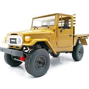 WPL C44KM 1/16 Металлический Набор 4Wd скалолазание внедорожный грузовик Diy аксессуары модифицированное обновление без ESC батареи передатчик прие...